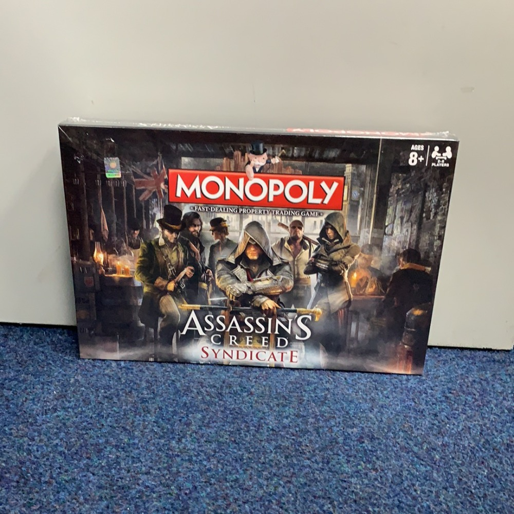 Product photo for Monopoly Monopoly Assassin's Creed