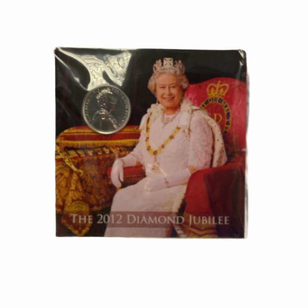 Product photo for The Royal Mint 2012 Diamond Jubliee