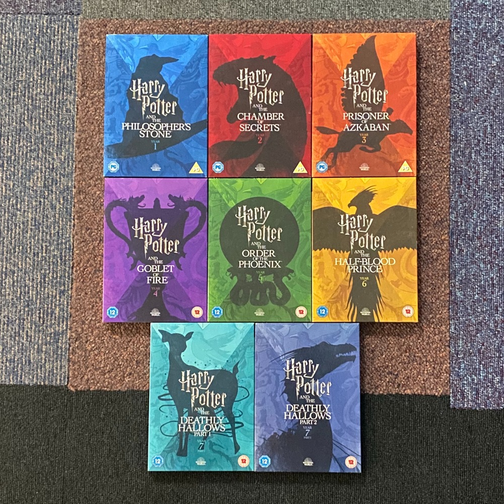Product photo for HARRY POTTER WIZARDING WORLD EDITION 8 FIL COLLECTION (6 DISCS STILL SEALED)
