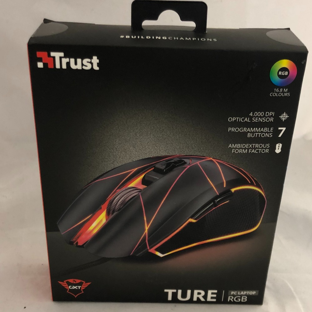 Product photo for Trust  Boxed Illuminating Trust Gaming Mouse