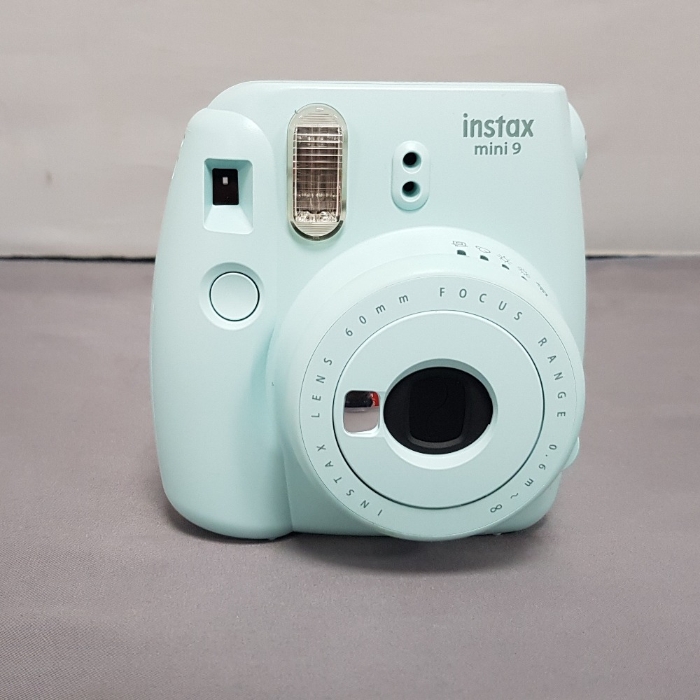 Product photo for Fujifilm Instax Mini 9 - Ice Blue