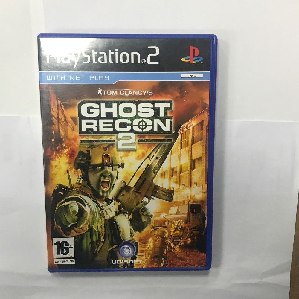 Product photo for Sony PS2 Game ghost recon 2 PlayStation 2