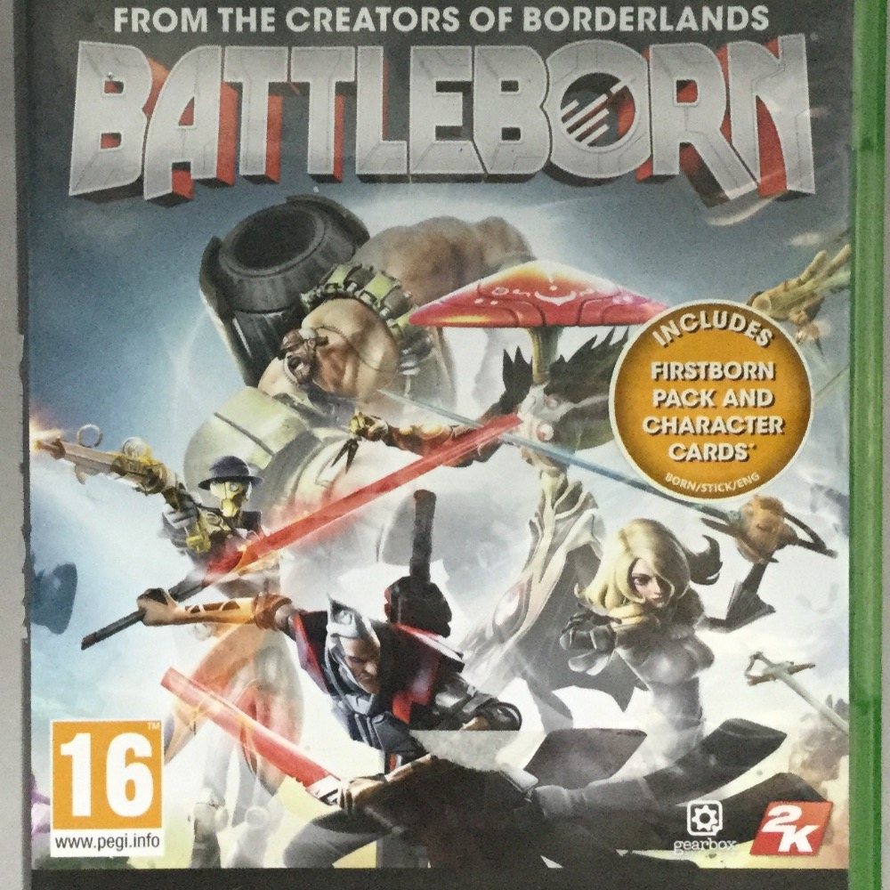 Product photo for Xbox One Game Battleborn