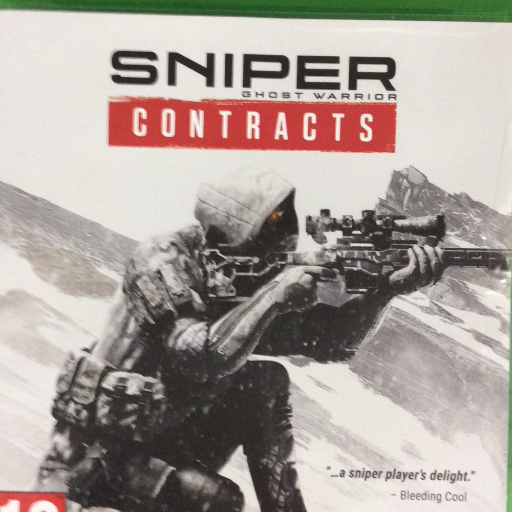 Product photo for  Microsoft Xbox one  sniper ghost warrior contracts