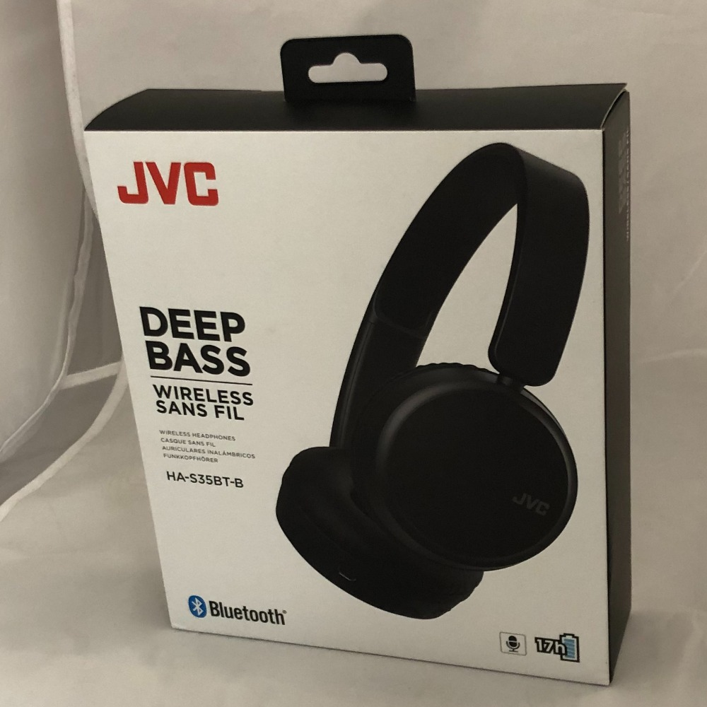Product photo for JVC JVC Wireless Bluetooth Headphones - Brand New & Sealed