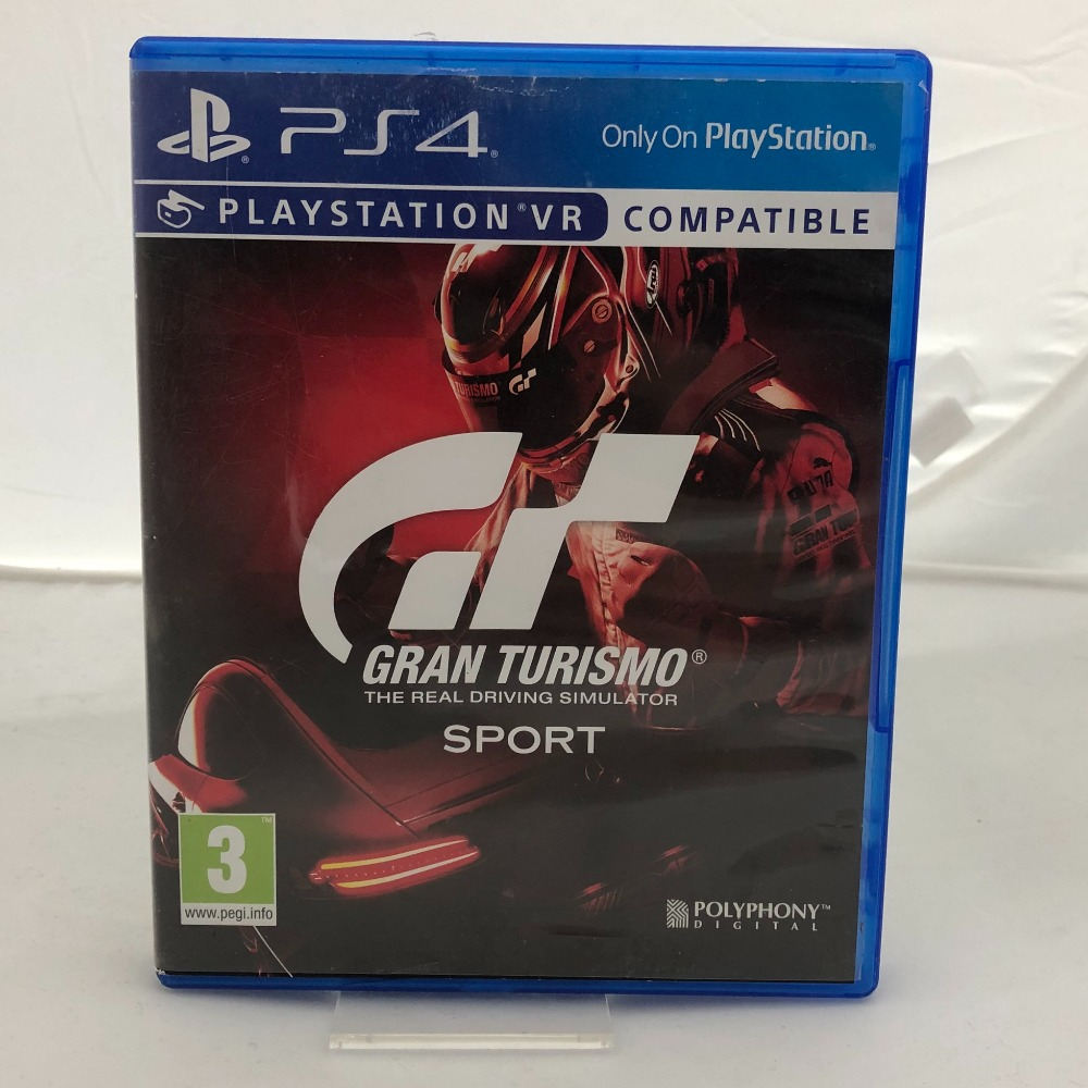 Product photo for Gran Turismo Sport (PS4)