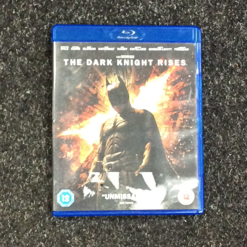 Product photo for Blu-ray The Dark Knight Rises