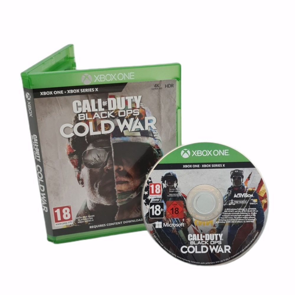 Product photo for  Xbox one game Call of Duty Black Ops: Cold War