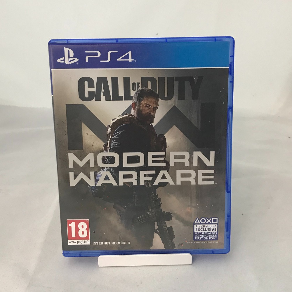 Product photo for PS4 Game Call of Duty Modern Warfare
