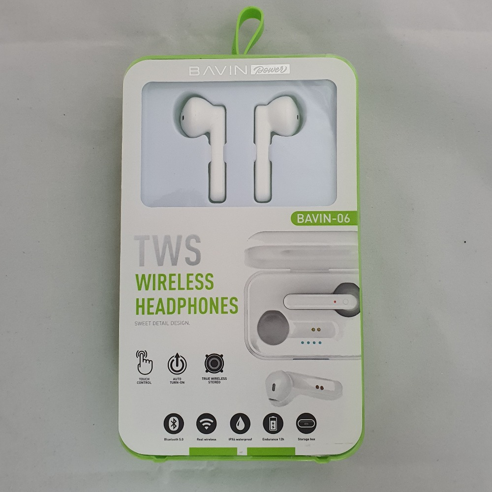 Product photo for Bavin Bluetooth Wireless Ear pods