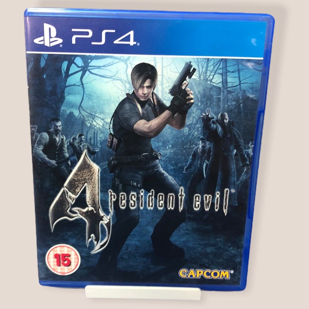 Product photo for PS4 Game Resident Evil 4