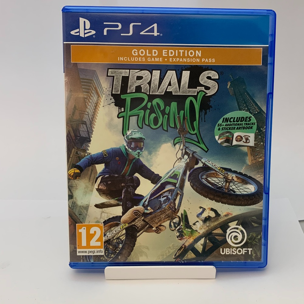 Product photo for SONY PS4 Game Trials rising (WAS £13.99)