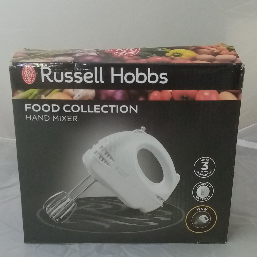Product photo for Food Collection Hand Mixer Russell Hobbs