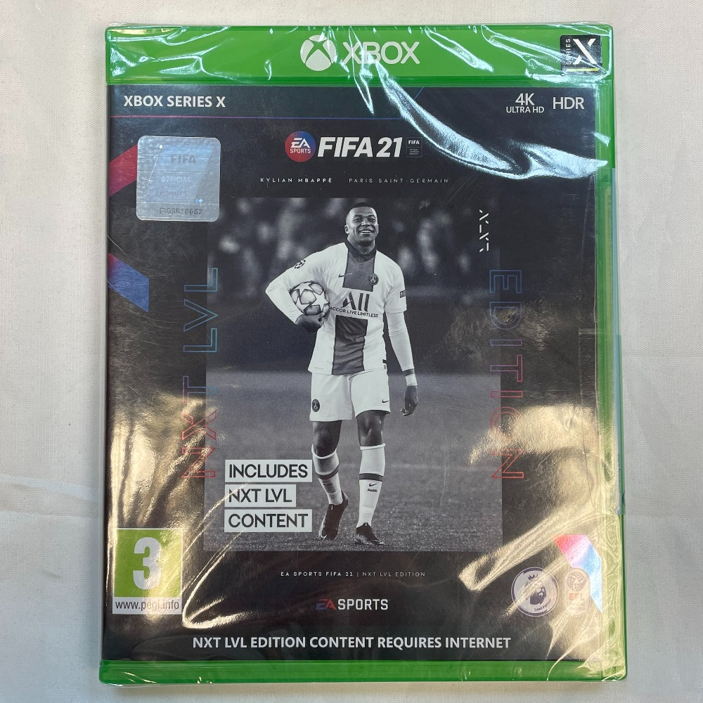 Product photo for Xbox One X Fifa 21 Game (WAS £65)