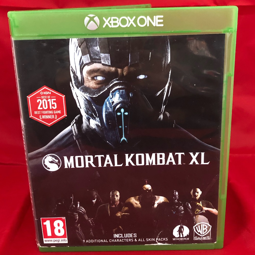 Product photo for Xbox One Game Mortal Kombat XL