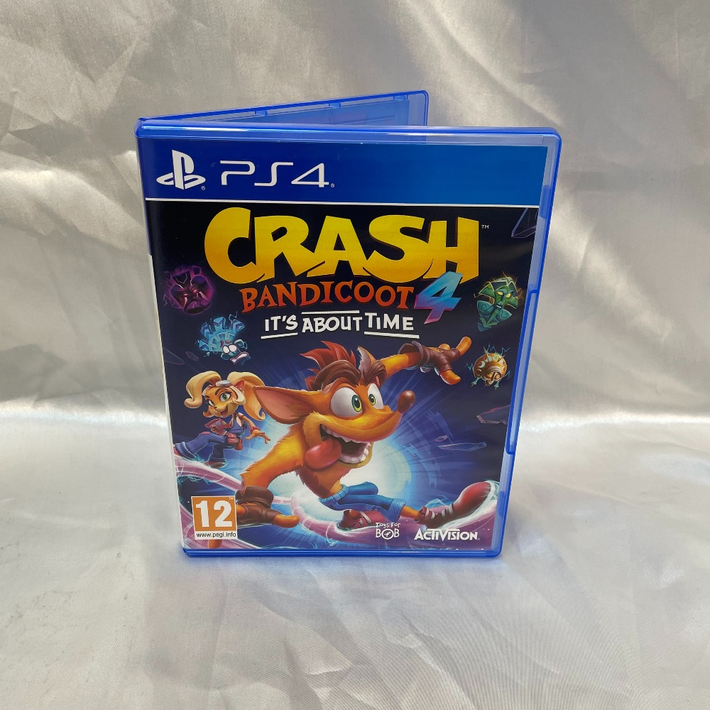 Product photo for PlayStation 4 Game Crash Bandicoot 4 Its About Time