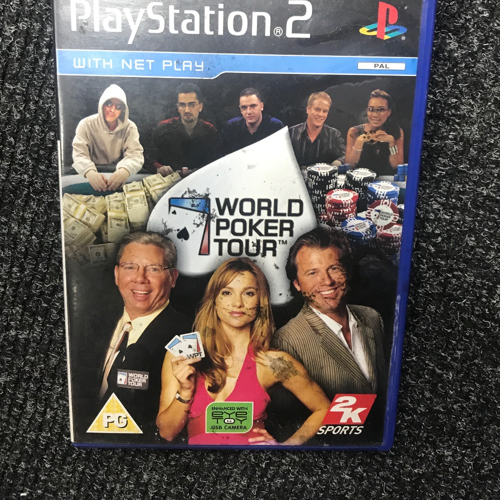 Product photo for Sony  PS2 Game poker PlayStation 2