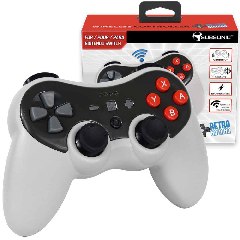 Product photo for Pro-S Retro Style Nintendo Switch Wireless Controller