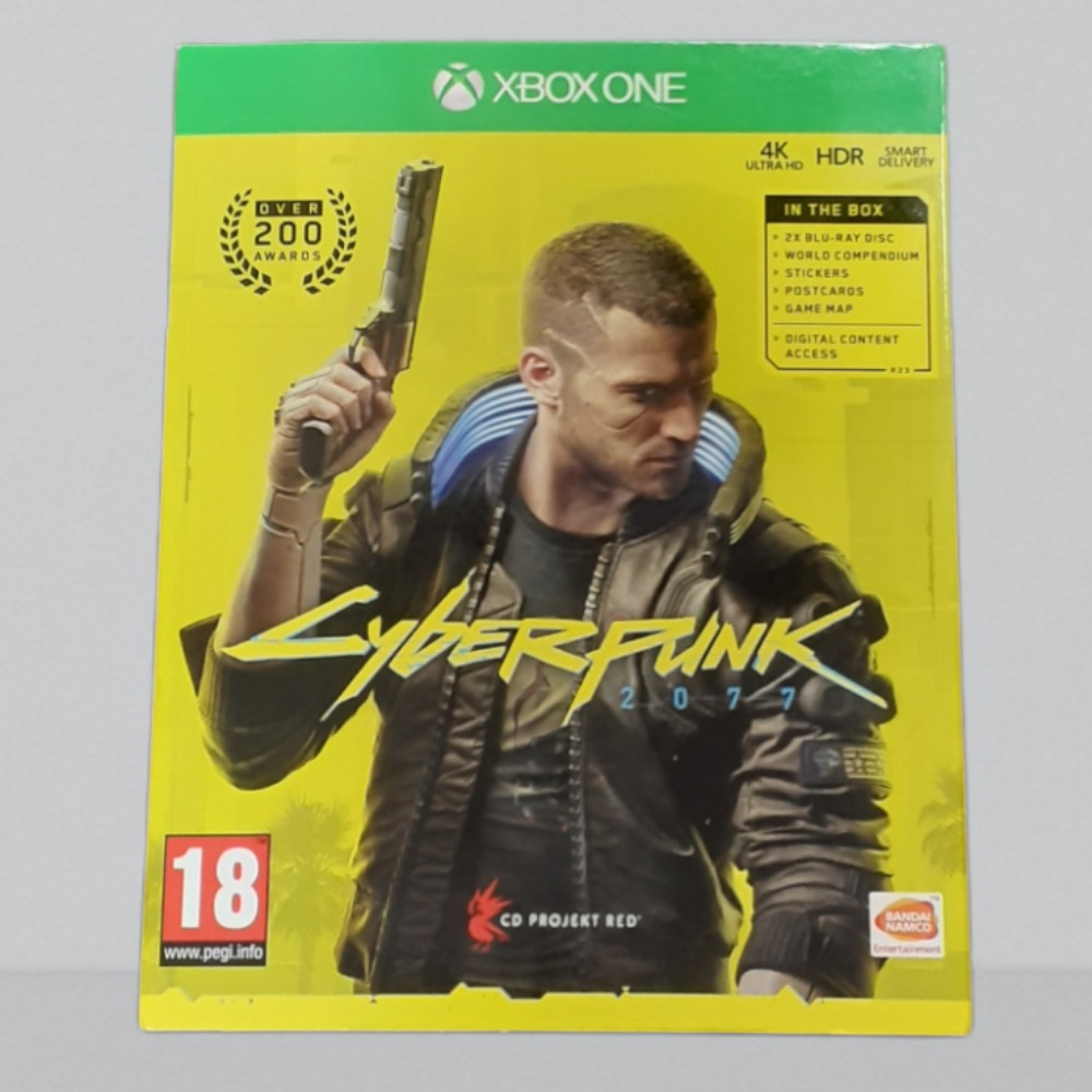 Product photo for  Xbox one game cyberpunk