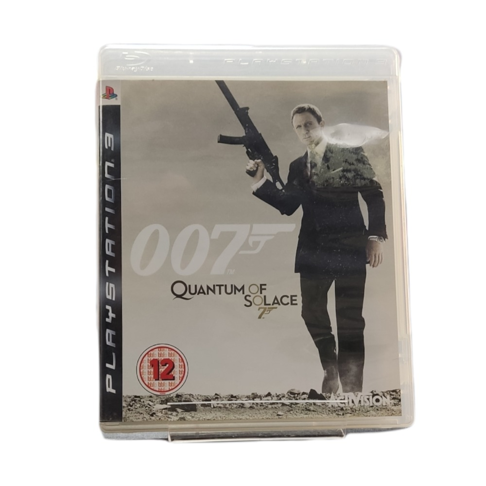 Product photo for Playstation 3 Game 007 Quantum Of Solace