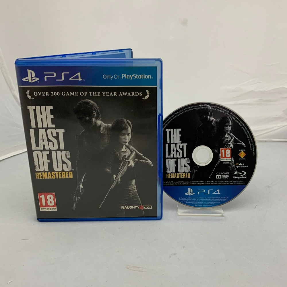 Product photo for The Last Of Us Remastered