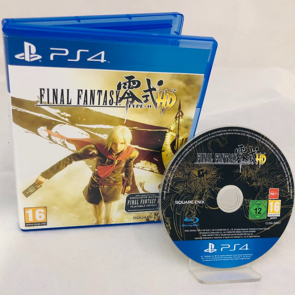 Product photo for Final Fantasy Type-0 HD PS4