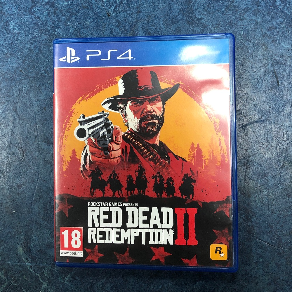 Product photo for Sony red dead redemption 2 playstation 4