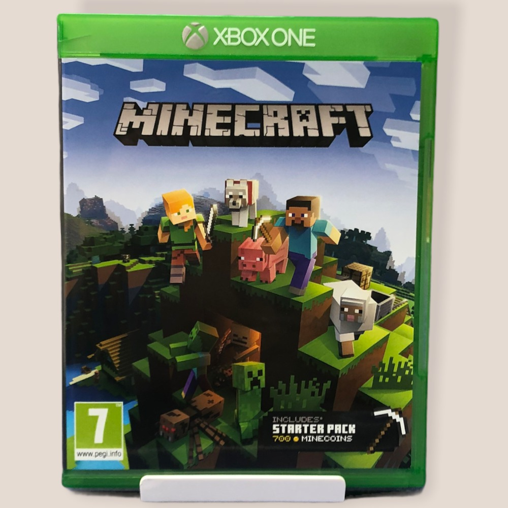 Product photo for  Xbox one game Minecraft