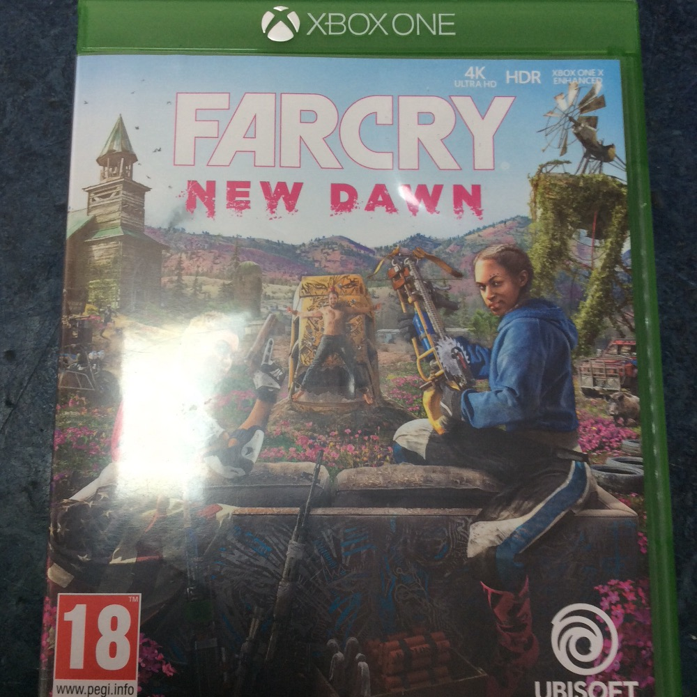 Product photo for Xbox One Game Far cry new dawn