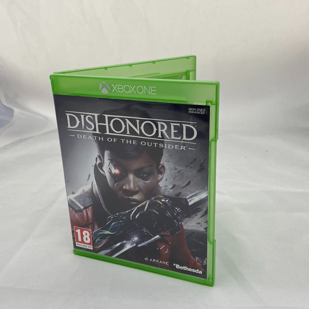 Product photo for Xbox One Game Dishonored: Death of the Outsider