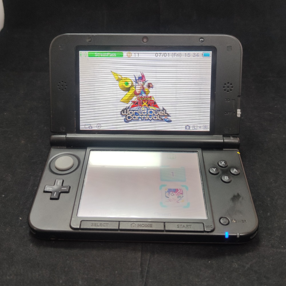 Product photo for Nintendo 3DS XL red