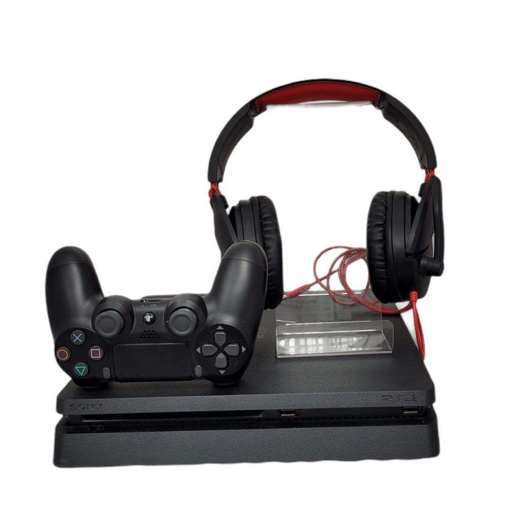 Product photo for PS4 Slim 500GB with Headset