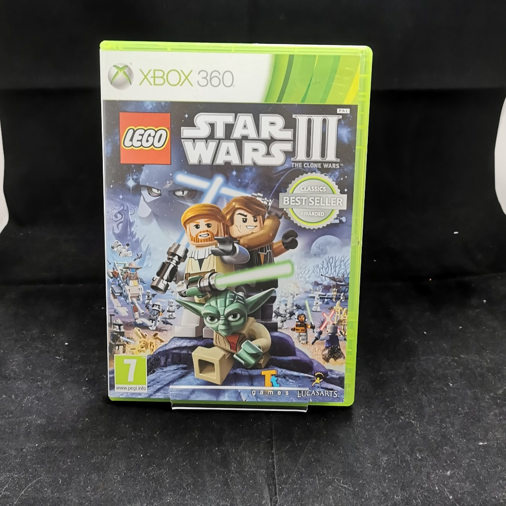 Product photo for xbox 360 game Lego Star Wars 3