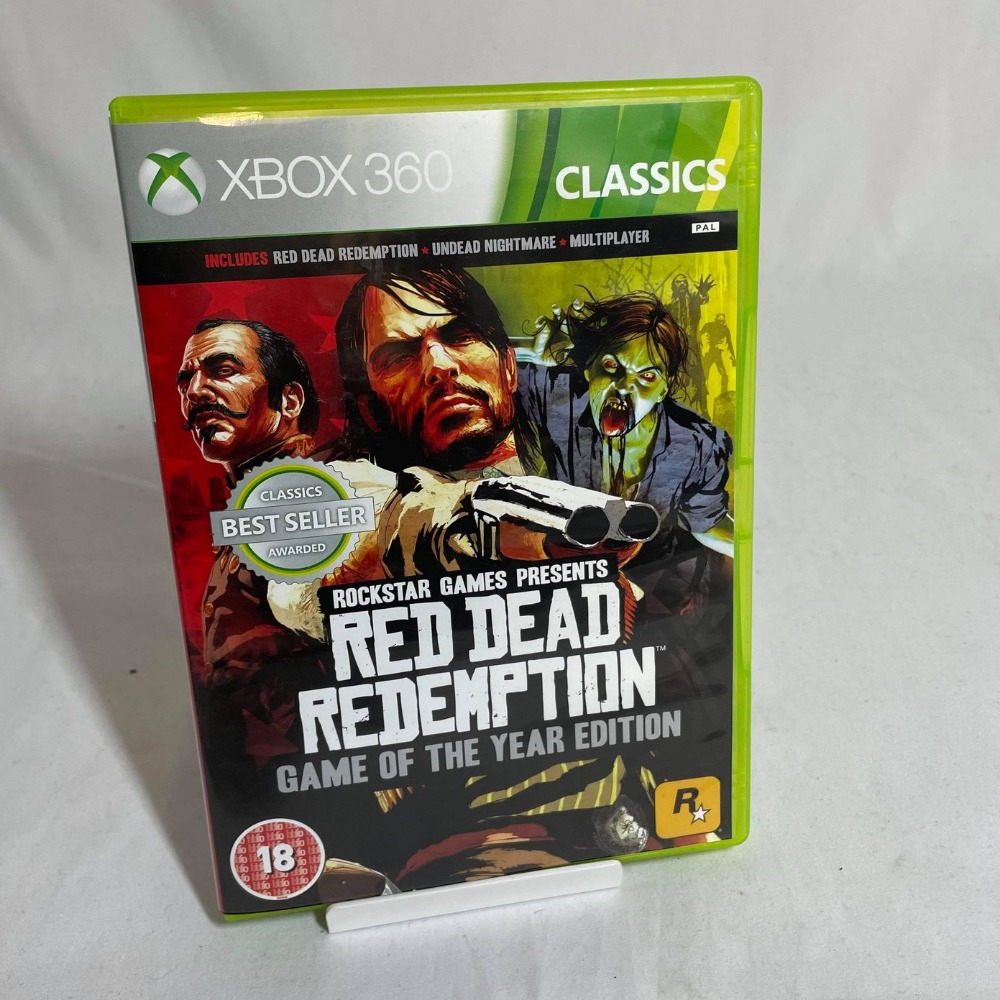 Product photo for Red Dead Redemption: Game of the Year Edition - Xbox 360 Game