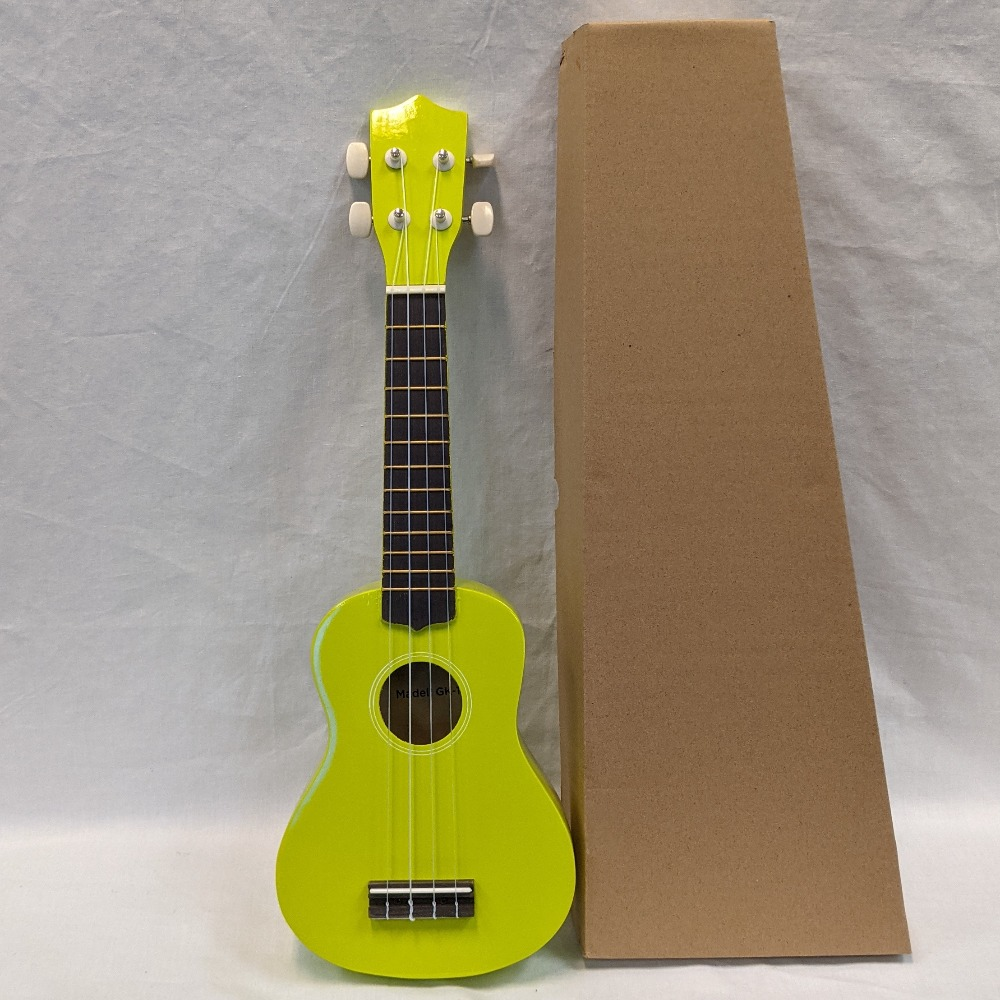 Product photo for Singer Ukulele - Lime Green