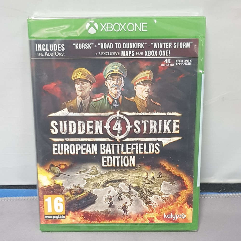 Product photo for Sudden 4 Strike European Battlefield Xbox One
