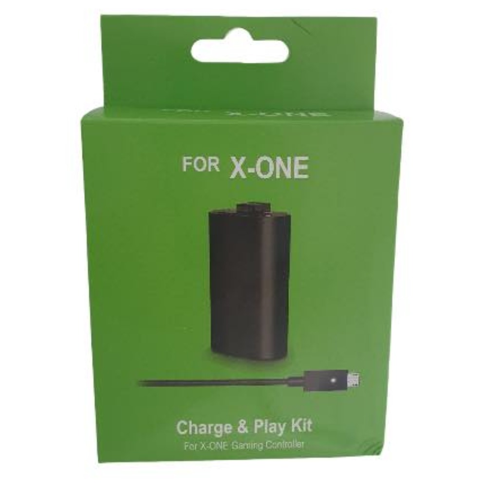 Product photo for Xbox One charge and play kit