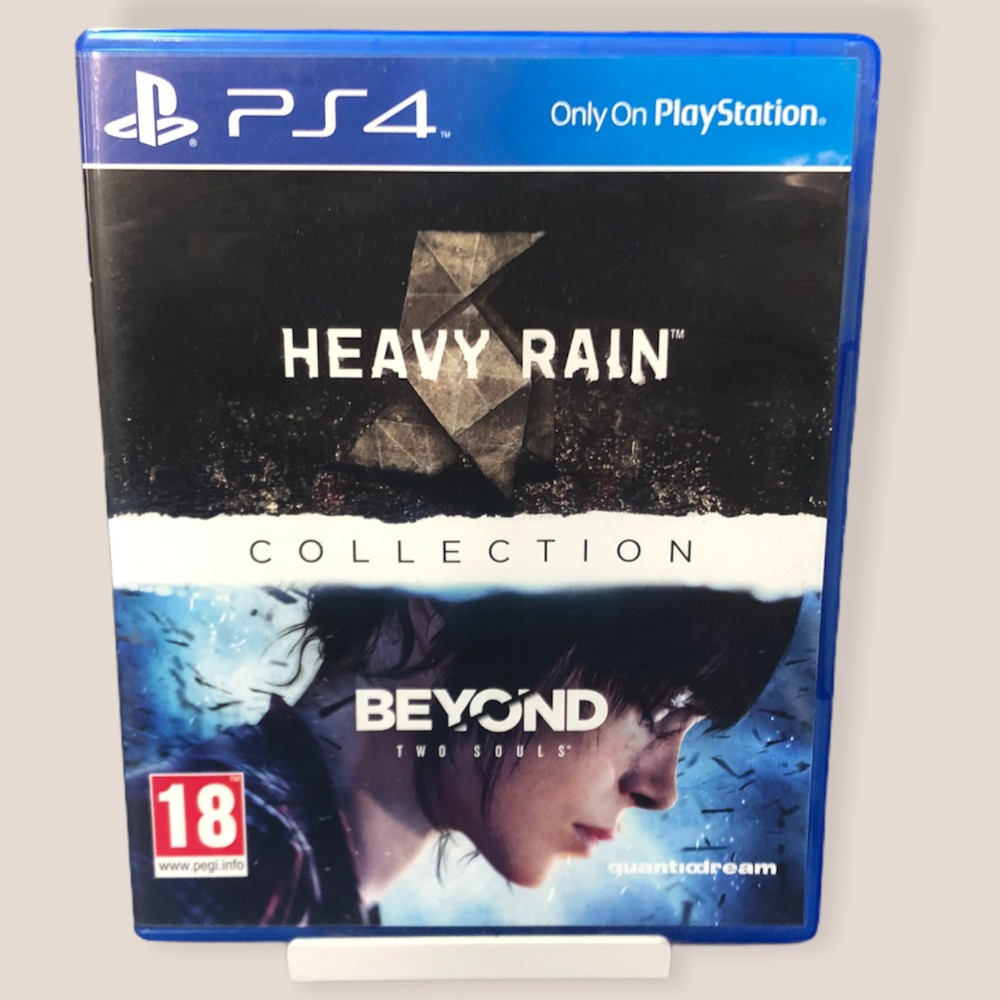Product photo for PS4 Game Heavy Rain & Beyond: Two Souls collection