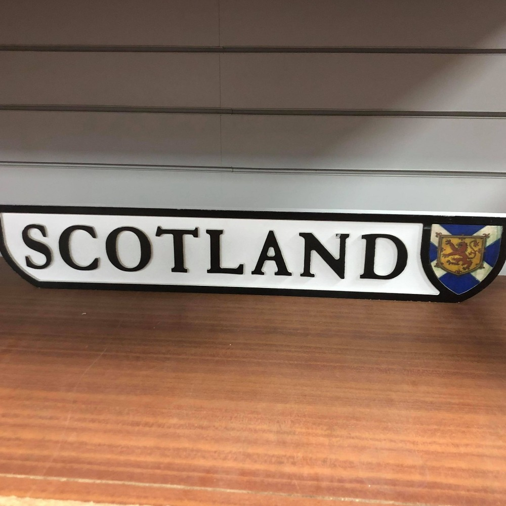 Product photo for Scotland Sign