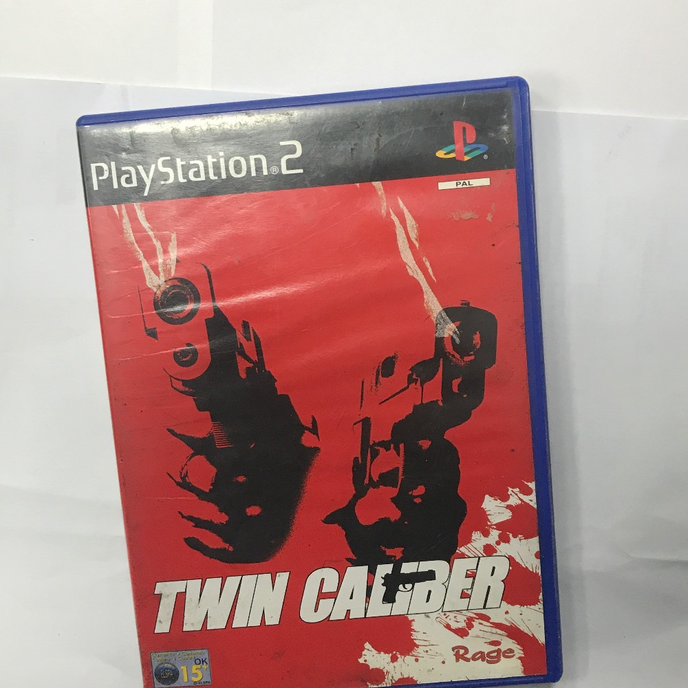 Product photo for Sony PS2 Game twin caliber