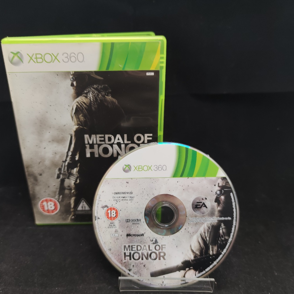 Product photo for  Microsoft Xbox 360 game Medal Of Honor