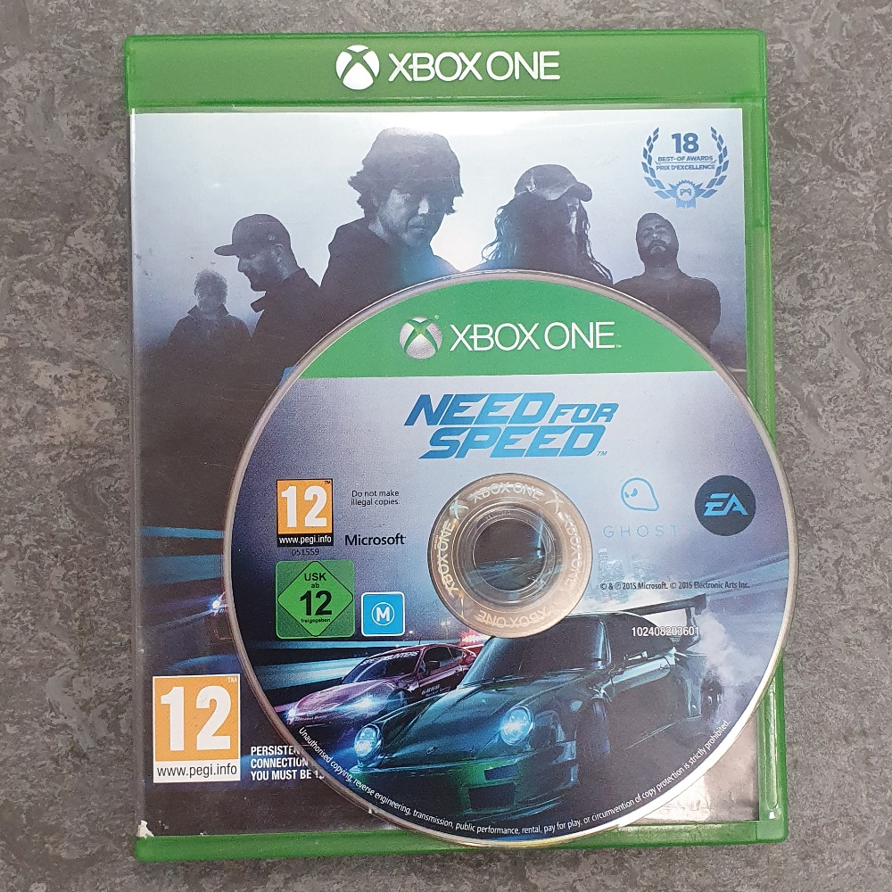 Product photo for Need For Speed (Xbox One)