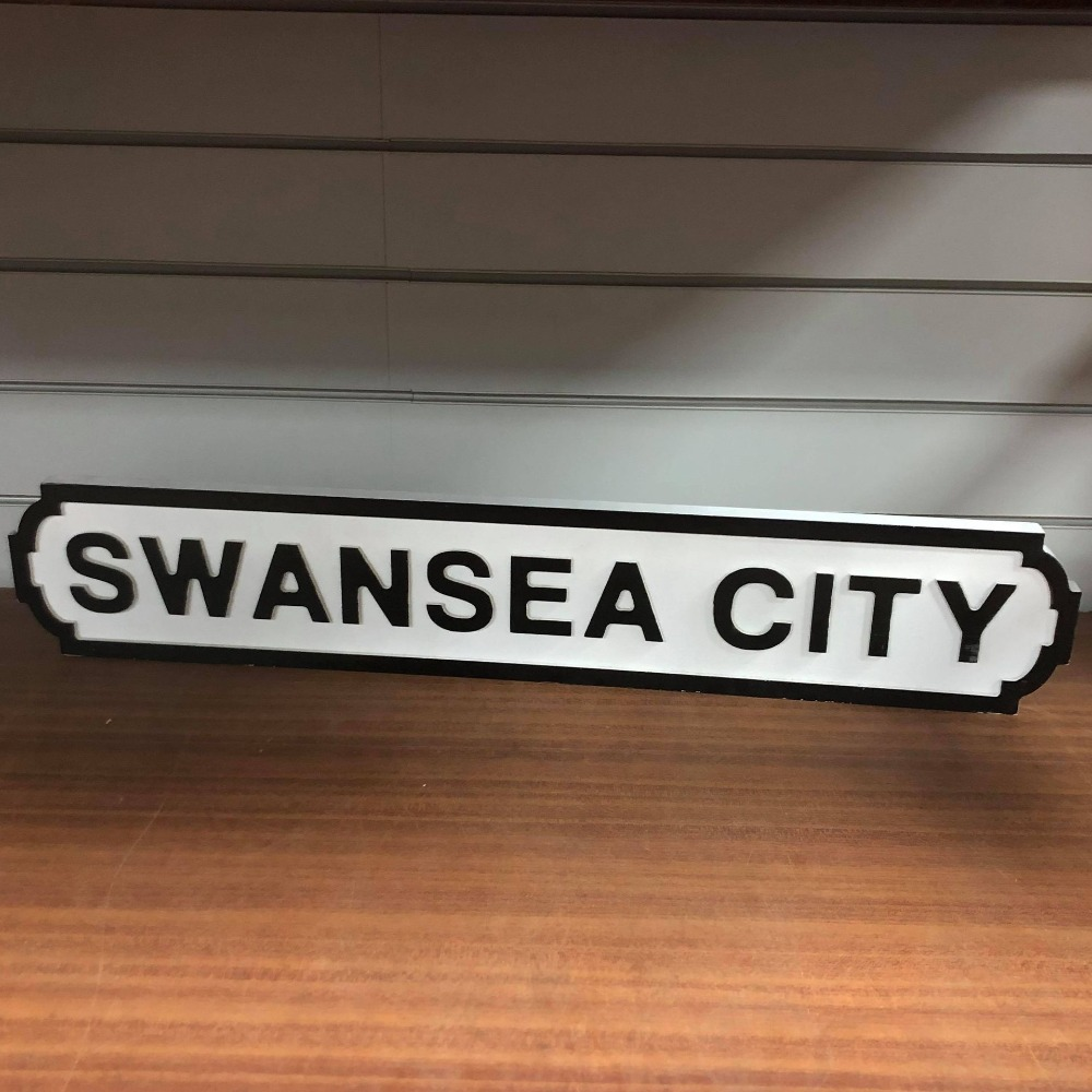 Product photo for !!May Sale!! Swansea City Sign