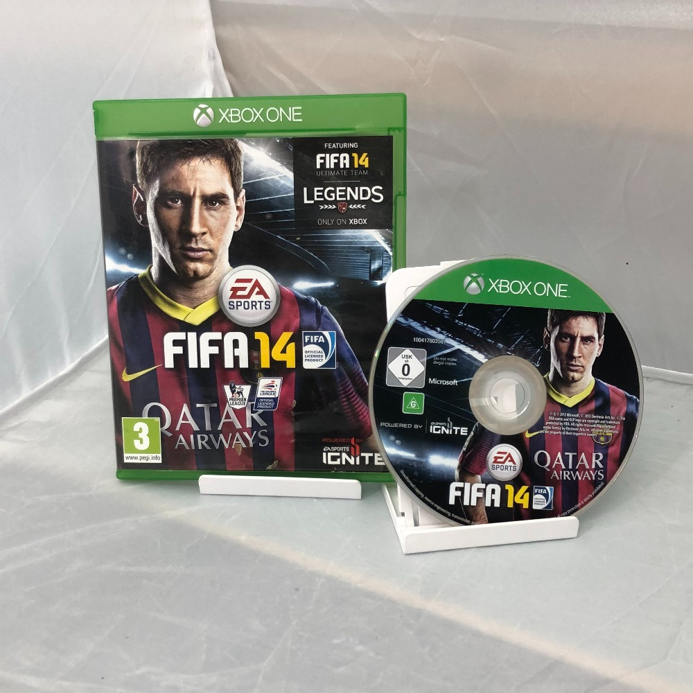 Product photo for  Microsoft Xbox one game Fifa 14