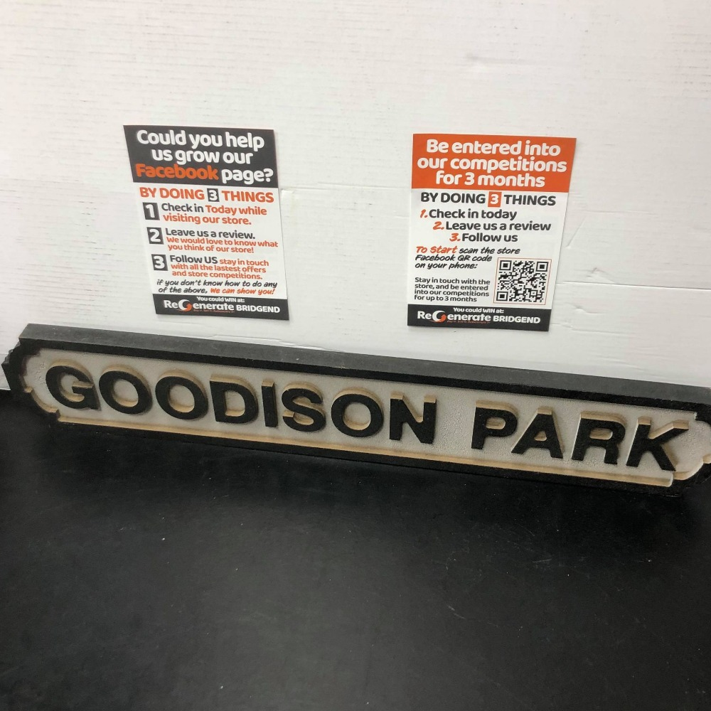 Product photo for Goodison Park Sign
