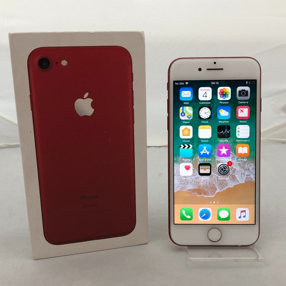 Product photo for iPhone 7 (128GB) Product Red