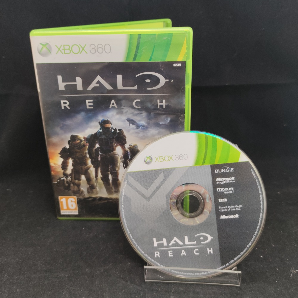 Product photo for  Microsoft Xbox 360 game Halo Reach