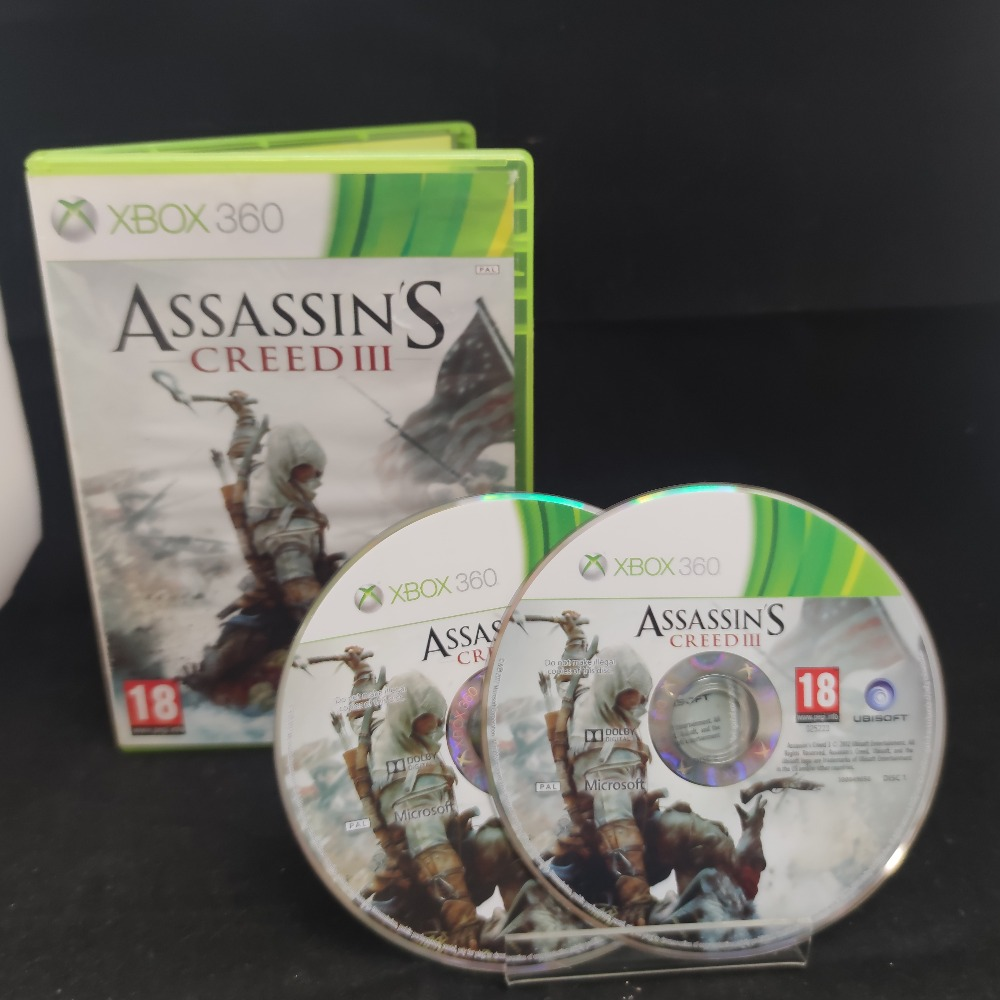 Product photo for  Microsoft Xbox 360 game Assassins Creed 3
