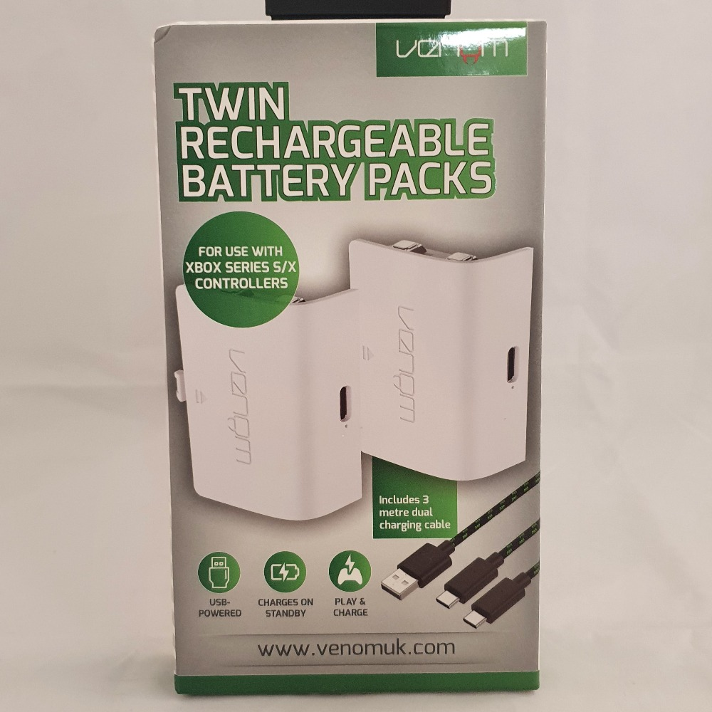 Product photo for Venom Venom Twin Rechargeable Battery Packs