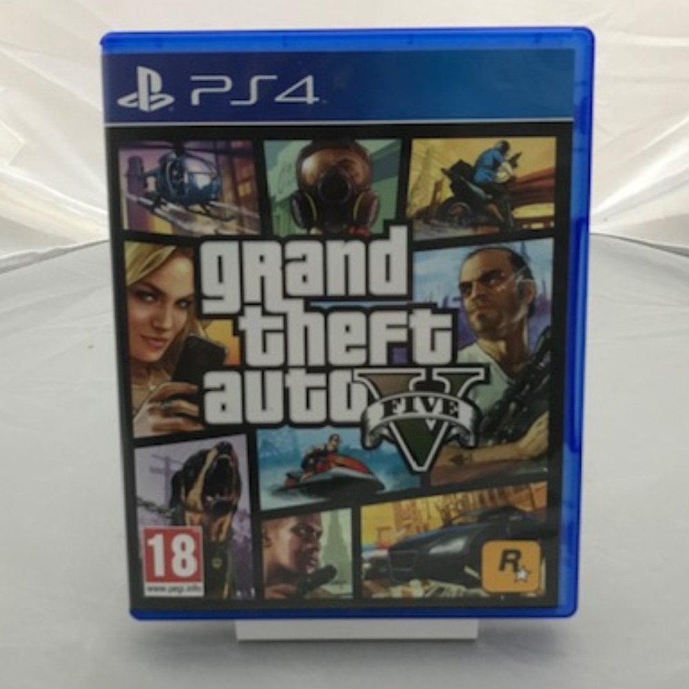 Product photo for PlayStation 4 Game Grand Theft Auto V